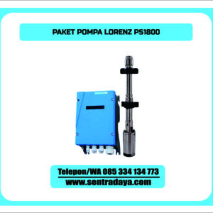 PAKET POMPA LORENTZ PS1800 | POMPA SUBMERSIBLE LORENTZ PS1800